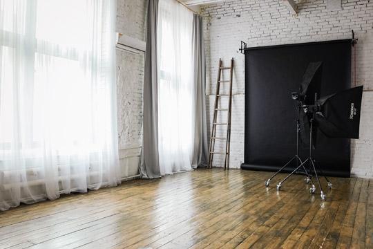 Фотостудия с дневным светом