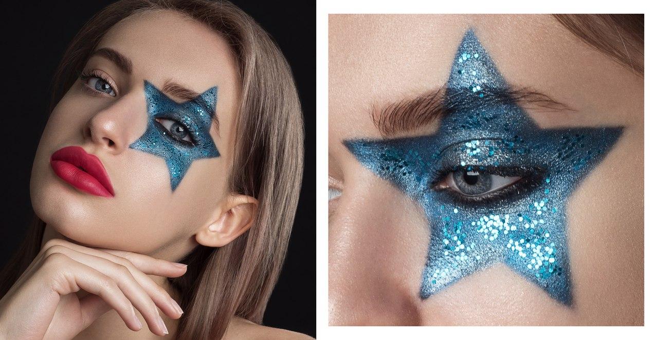 Портфолио для визажиста с макияжем